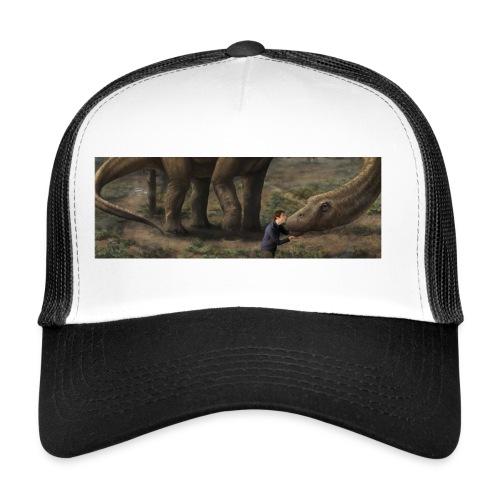 Dinosauriemuggen - Björn älskar dinosaurier! - Trucker Cap