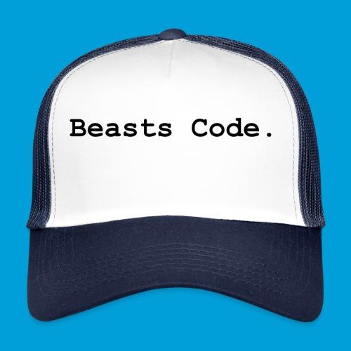 Beasts Code. - Trucker Cap