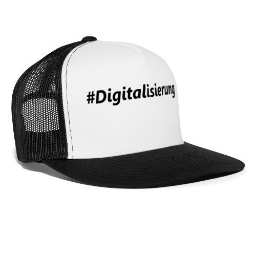 #Digitalisierung black - Trucker Cap