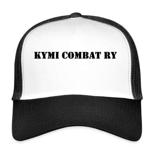 kc musta teksti transparent png - Trucker Cap