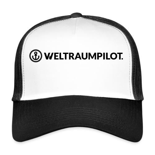 weltraumpilotquer - Trucker Cap
