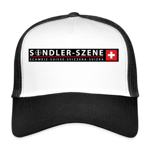 Logo schwarz - Trucker Cap
