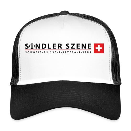 Logo weiss - Trucker Cap