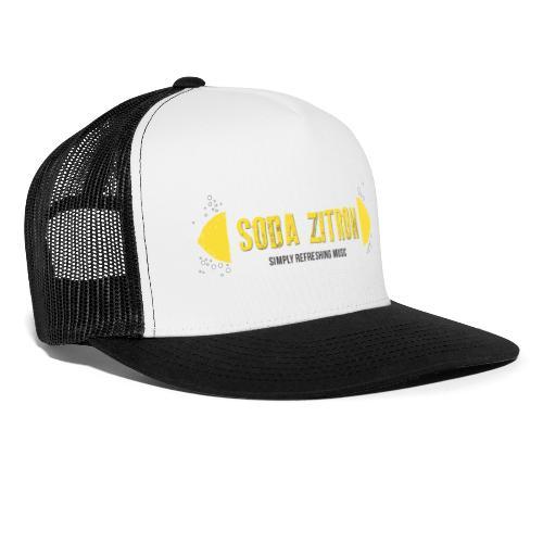 soda zitron logo weiss - Trucker Cap
