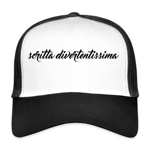 SCRITTA DIVERTENTE - Trucker Cap