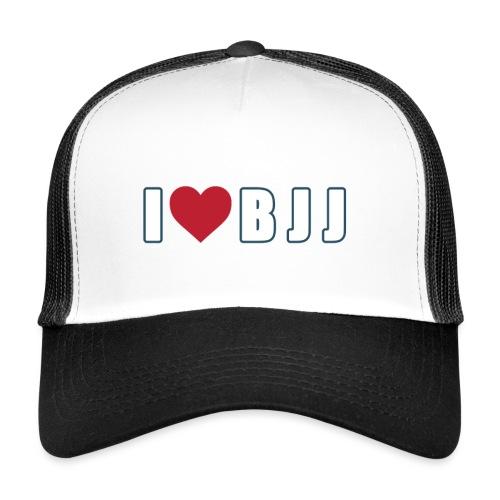 i love bjj - Trucker Cap