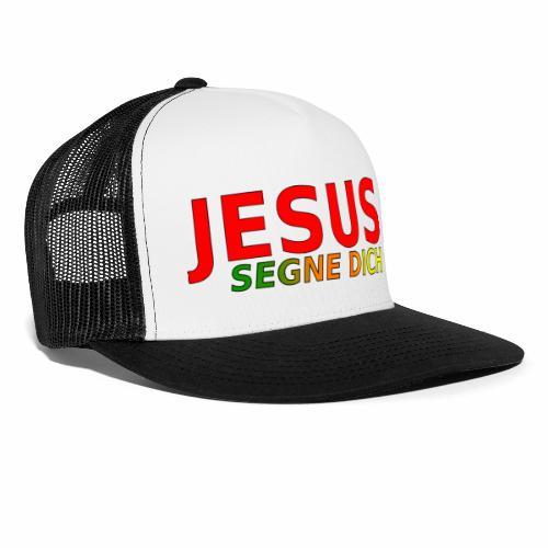 JESUS segne dich - bunt - Trucker Cap