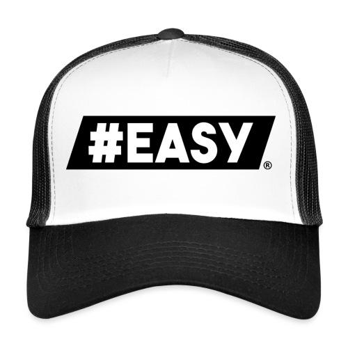 #EASY Classic Logo T-Shirt - Trucker Cap