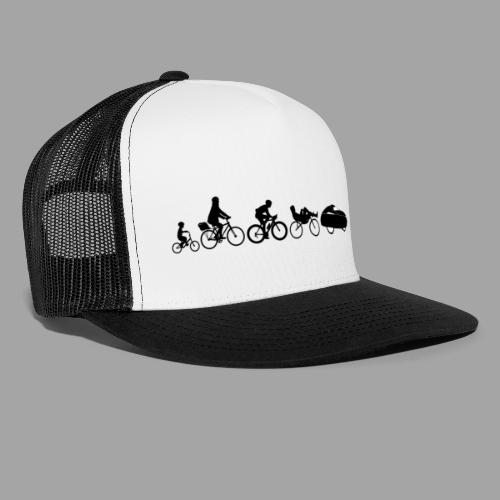Bicycle evolution black - Trucker Cap