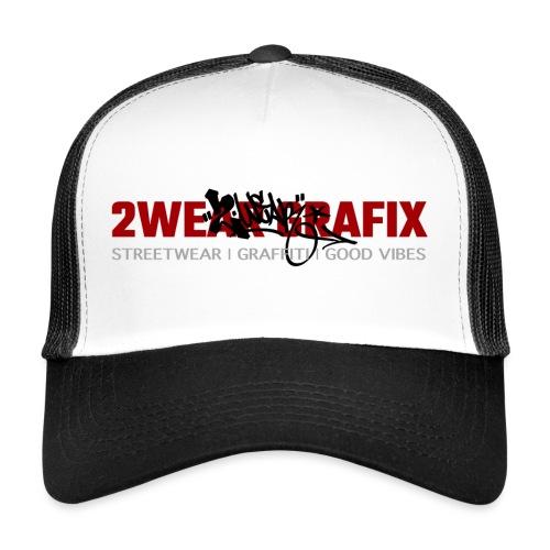 2wear Grafix Box Logo - Trucker Cap