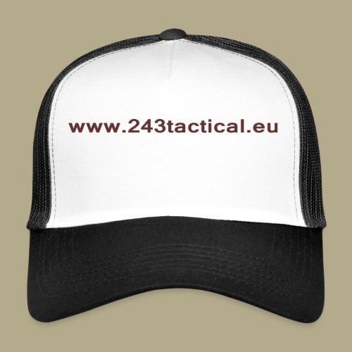 .243 Tactical Website - Trucker Cap