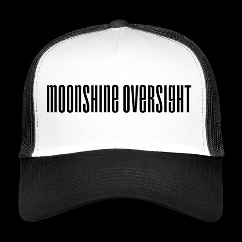Moonshine Oversight logo - Trucker Cap