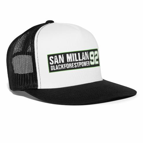 San Millan Blackforestpower 92 Box - Trucker Cap