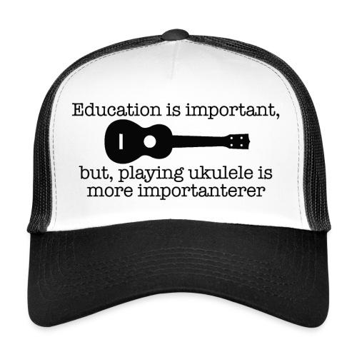 Important Ukulele - Trucker Cap