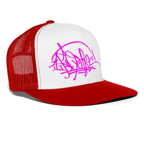 prc ikon rose tag - Trucker Cap
