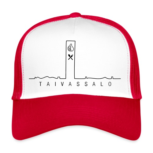 Taivassalo -printti - Trucker Cap