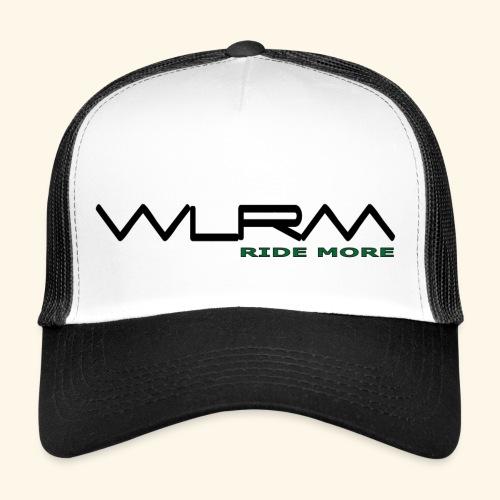 WLRM Schriftzug black png - Trucker Cap