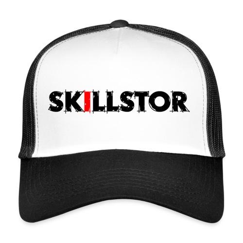 Wortmarke schwarz - Trucker Cap