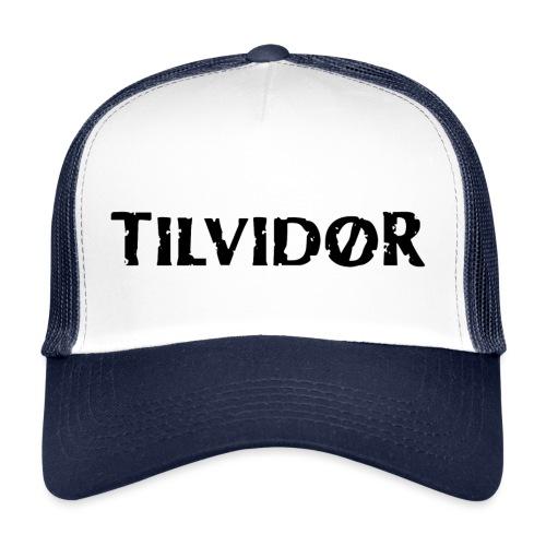 TVDteelogolightbg1 copy - Trucker Cap