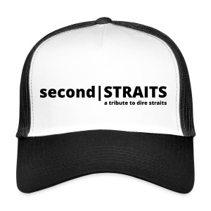 secondSTRAITS_01_black - Trucker Cap