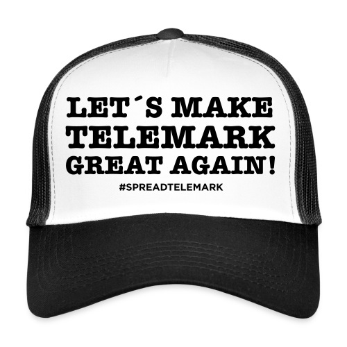 Let´s make telemark great again - Trucker Cap