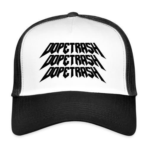 DopeTrash BLK - Trucker Cap