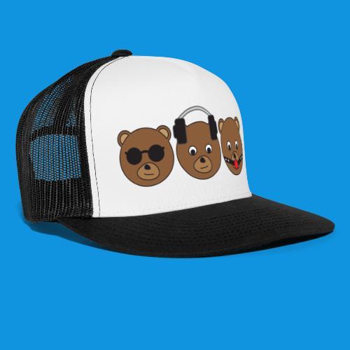 3 Wise Bears - Trucker Cap