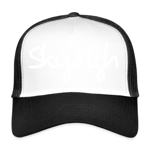 SkyHigh - Snapback - (Printed) White Letters - Trucker Cap