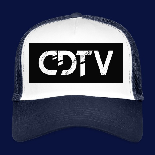 CDTV Box Logo - Trucker Cap