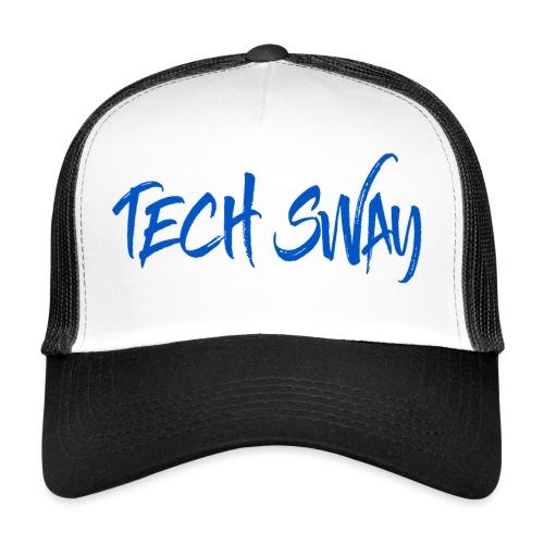 Tech Sway Blue - Trucker Cap