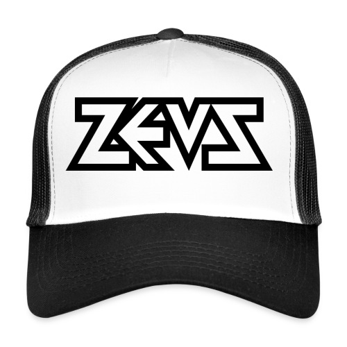 zeus logo b - Trucker Cap