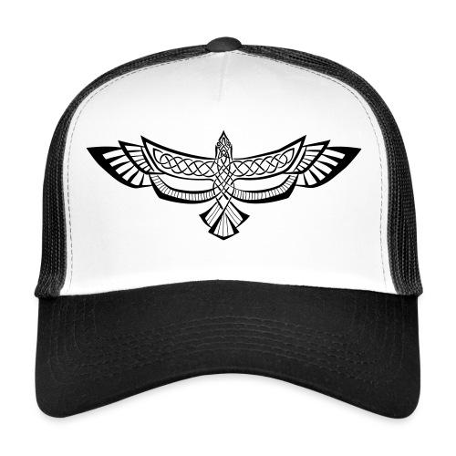 Keltischer Rabe - Trucker Cap