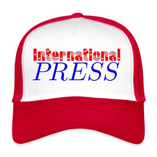 int_press-png - Trucker Cap