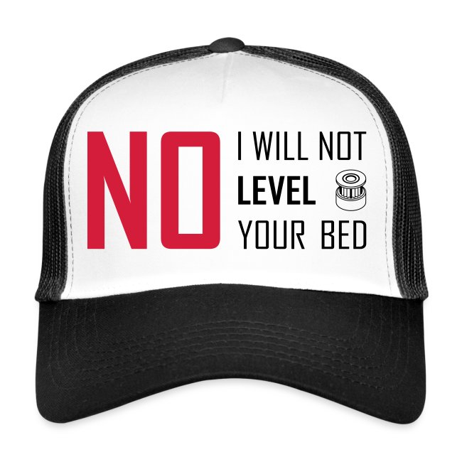 No I will not level your bed (horizontal).