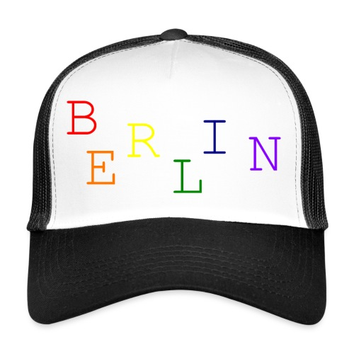 Berlin Rainbow #1 - Trucker Cap