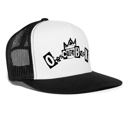 obscureblack logo - Trucker Cap