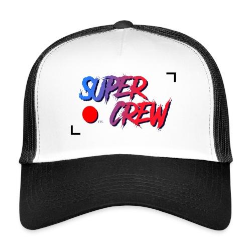 super crew logo larger centre - Trucker Cap