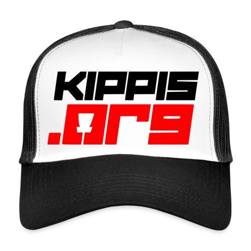 Kippis.org -tekstilogo - Trucker Cap