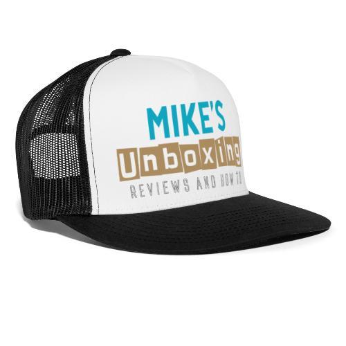 Mikesunboxing Classic Logo - Trucker Cap