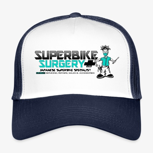 Original Superbike Surgery Logo - Trucker Cap