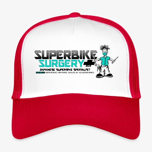 Original Superbike Surgery Logo - Trucker Cap