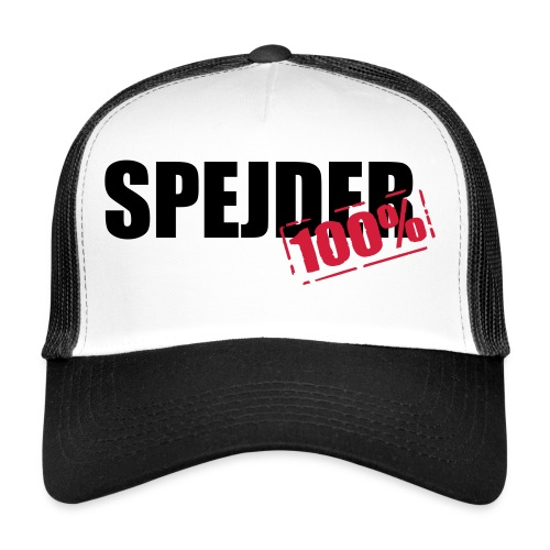 100procent spejder stempel - Trucker Cap