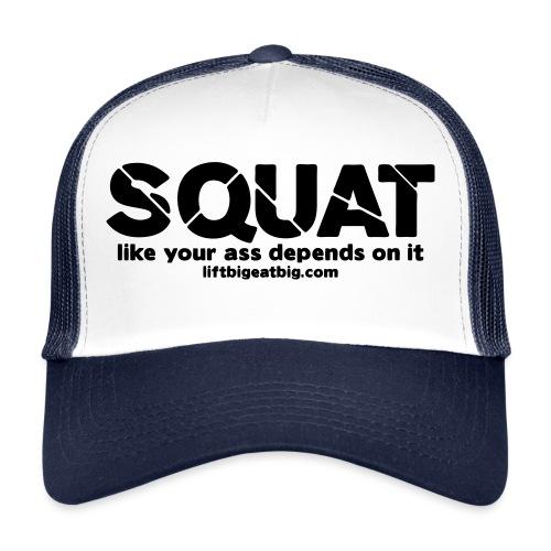 squat - Trucker Cap