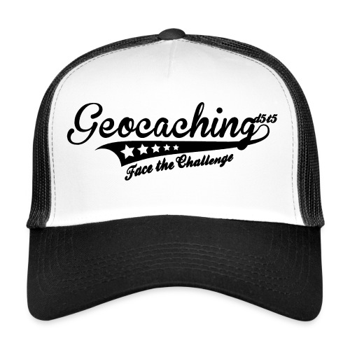 Geocaching - Face the Challenge - Trucker Cap
