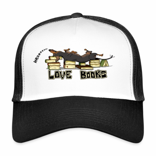 Love books - Trucker Cap