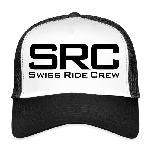 SRC Wintermütze Weiss - Trucker Cap