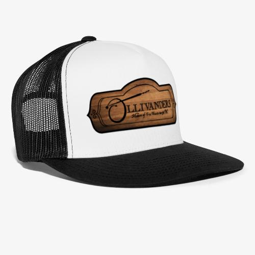 ollivanders sign - Trucker Cap