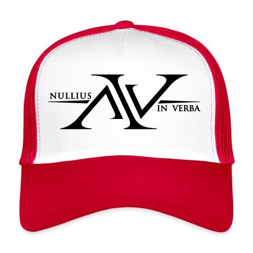 Nullius In Verba Logo - Trucker Cap