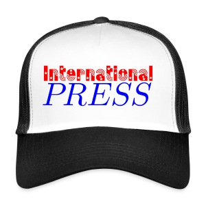 int_press-png - Trucker Cap
