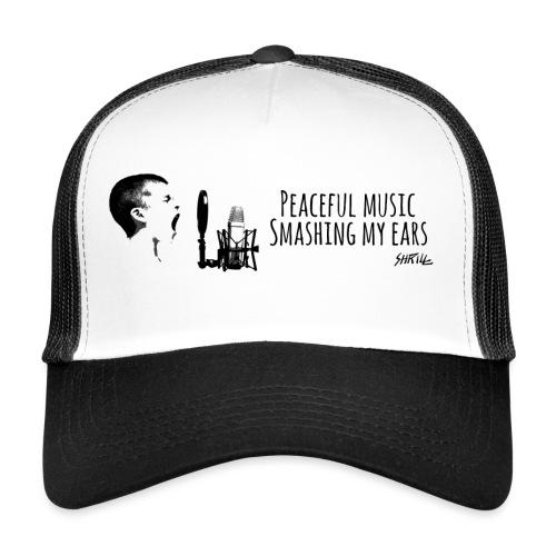 Peace ful Music horizontal - Trucker Cap